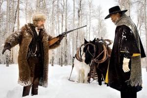 John Ruth (Kurt Russell) face au major Marquis Warren (Samuel L. Jackson)